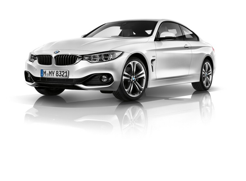 2013er BMW 4er Coupé in der Frontansicht