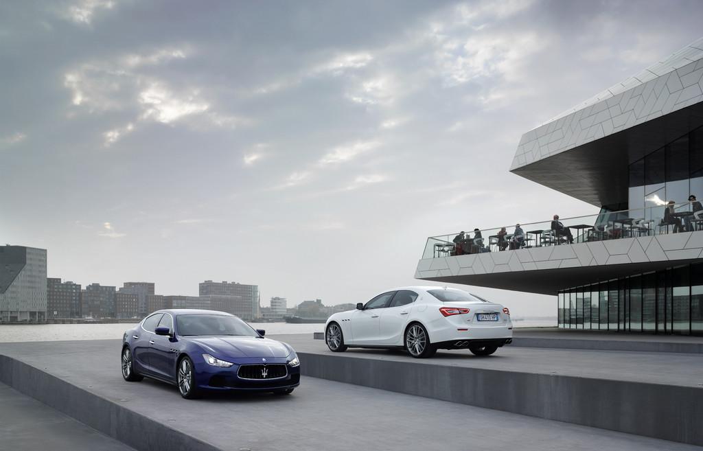 Oberklasselimousine Maserati Ghibli 2013er Modell
