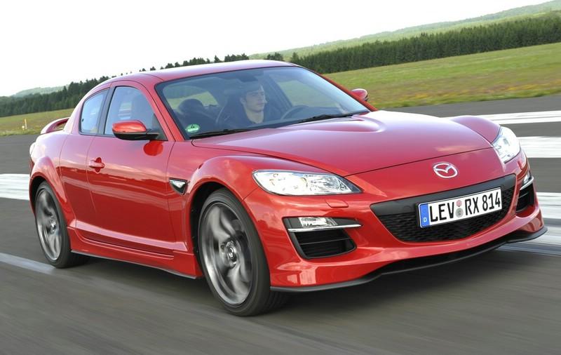 Bilder vom überarbeiteten Mazda RX-8 Modelljahr 2009