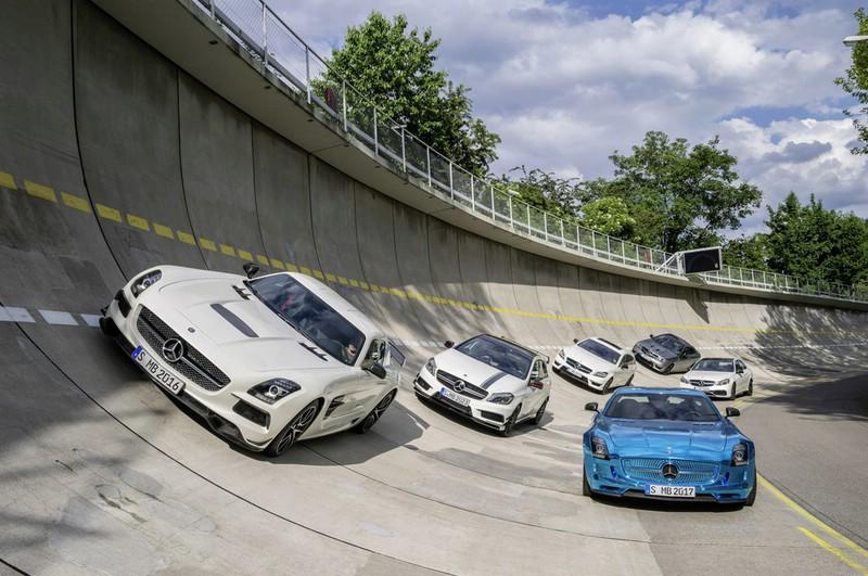 2013er AMG Modelle auf der Strecke