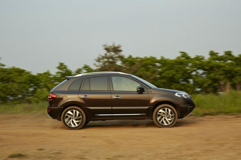 Die Seitenpartie des Renault Koleos Facelift