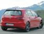 Die Heckpartie des VW Golf GTD Scheinwerfer, Heckschürze