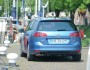 Die Heckpartie des Volkswagen Golf Variant TSI Blue Motion