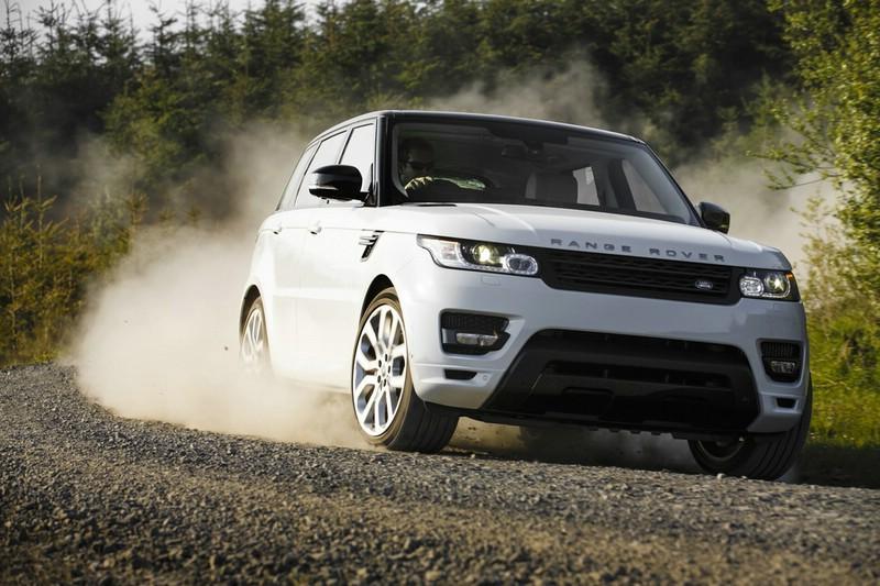 Die Heckpartie des neuen Range Rover Sport