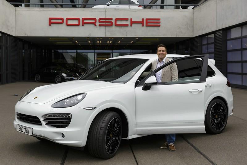 500 000ster Porsche Cayenne geht nach Österreich