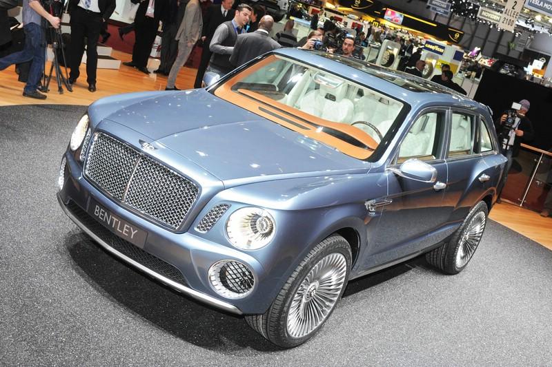 2016 soll der Bentley SUV auf den Markt kommen