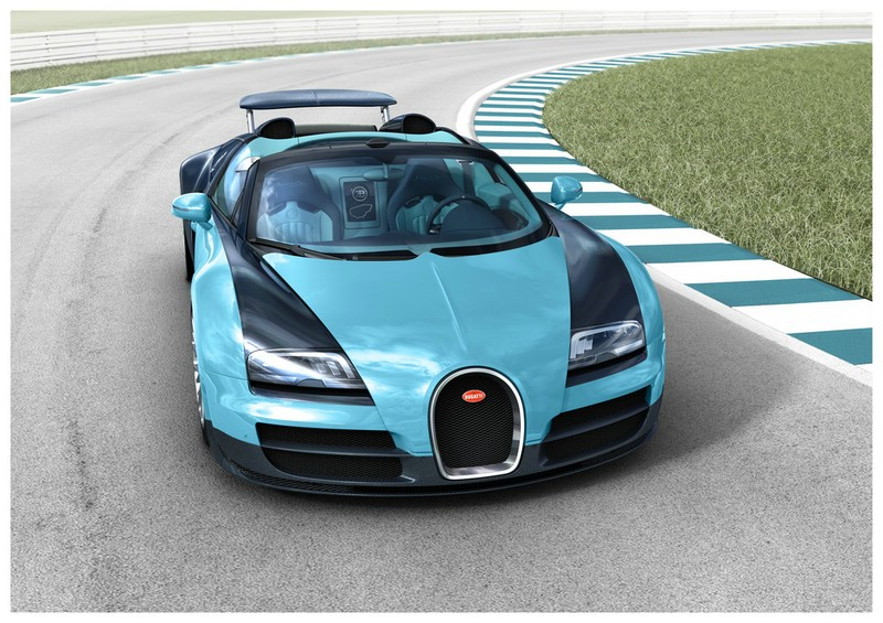Die Frontpartie des Bugatti Grand Sport Vitesse Edition JP Wimille