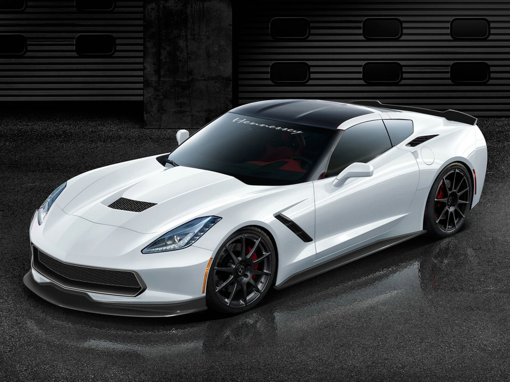 2013er Hennessey Corvette Stingray HPE700 mit 522 KW / 710 PS
