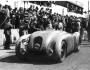Sieger Jean-Pierre Wimille im Bugatti 57G Tank in Le Mans