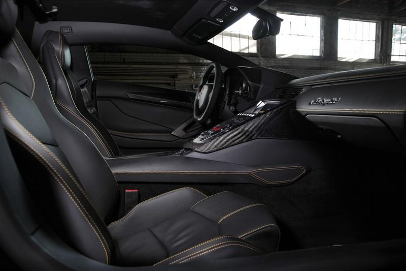 Galerie Lamborghini Aventador Von Novitec Torado Innenraum