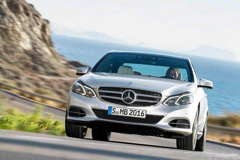 Mercedes-Benz E 350 BlueTEC mit dem neuen 9G-TRONIC