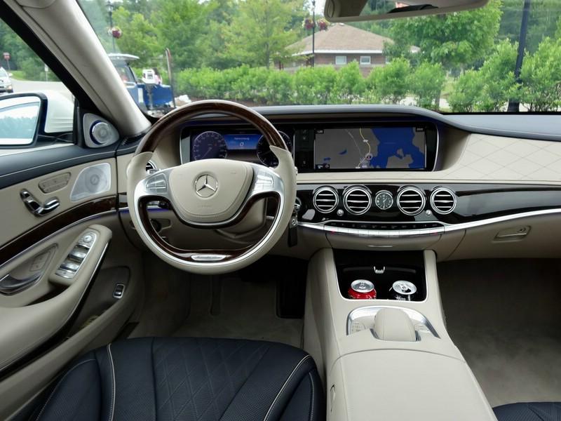 Das Interieur des Mercedes-Benz S-Klasse W222