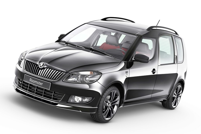Skoda Roomster Sonderedition Noire in schwarz Exterieur