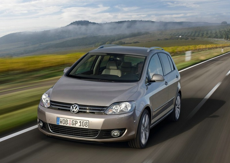 Volkswagen Golf Plus in der Frontansicht