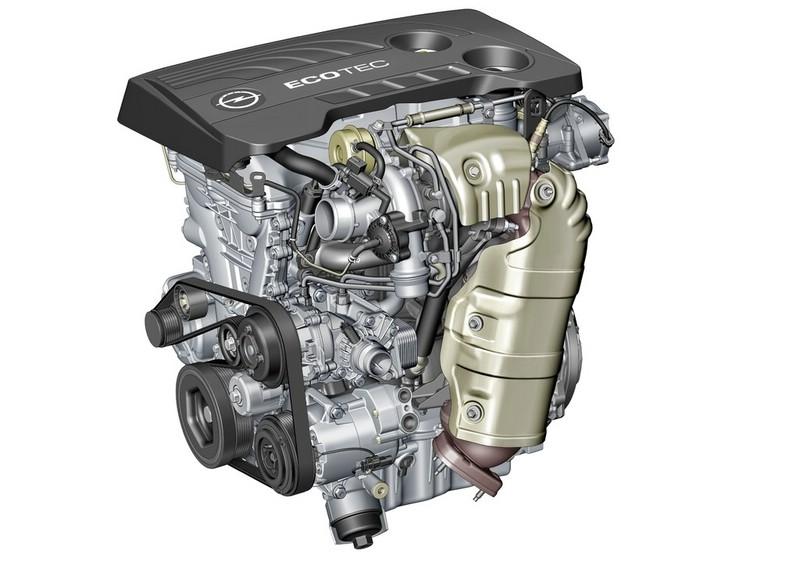 Der neue 1.6 SIDI Turbo Motor von Opel mit 147 kW 200 PS für den Cascada