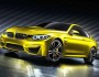 BMW Concept M4 Coupé in der Lackierung Aurum Dust