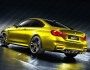 BMW Concept M4 Coupé in der Farbe Farbe Aurum Dust