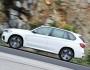 Weißer BMW X5 M50d mit 381 PS und Euro 6