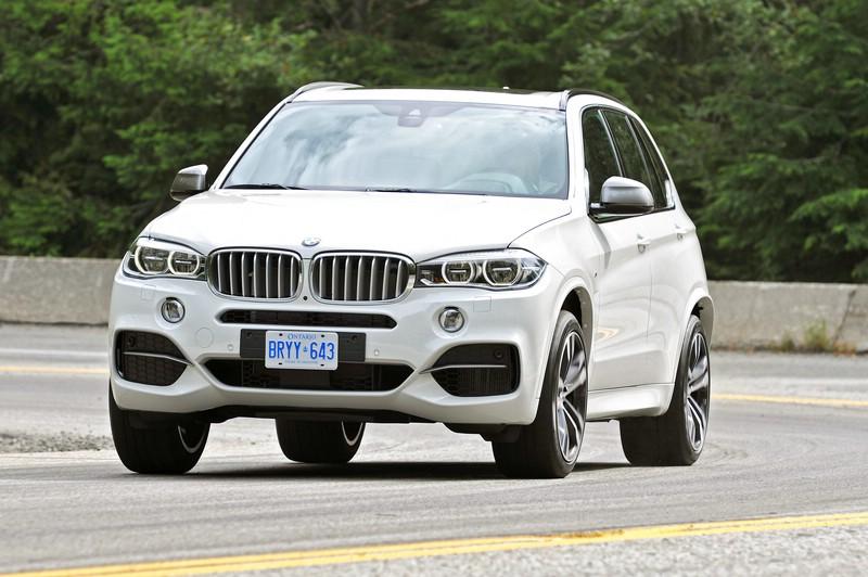 BMW X5 M50d F15 Modellgeneration 2014 in der Frontansicht