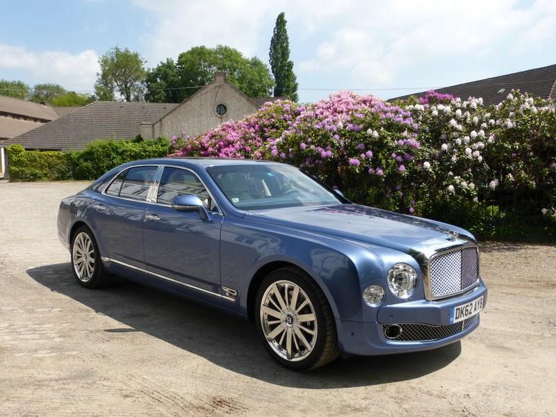 Bentley Mulsanne Exterieur Bilder 2013 (Blau)