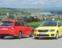 Skoda Octavia RS Limousine und Kombi nebeneinander
