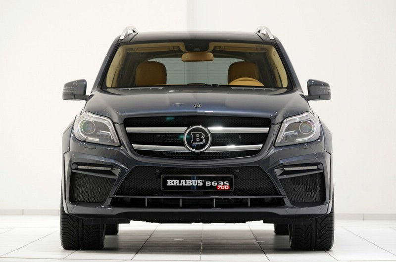 Brabus B63S - 700 Widestar 2013 (GL-Basis) in schwarz