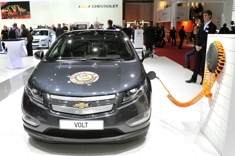 """Chevrolet Volt wird """"getankt"""" - Messe"""