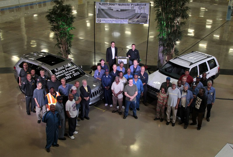 Jeep Grand Cherokee Produktion in Jefferson Nord