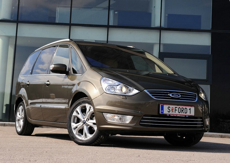 Ford Galaxy 2013 in der Frontansicht