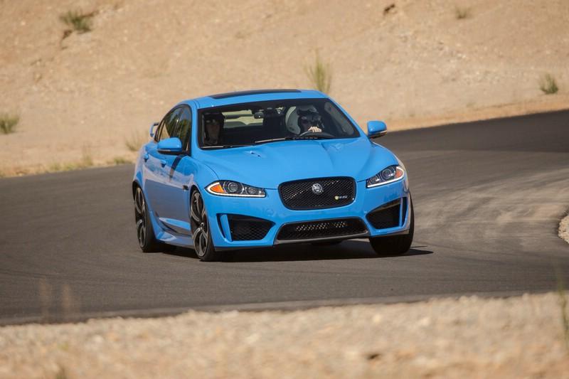 Die Frontpartie des Jaguar XFR-S