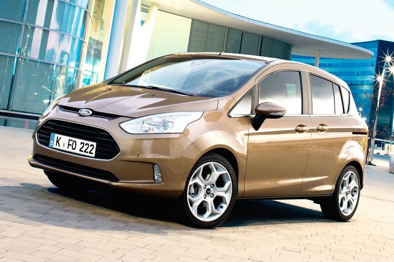 Beliebtes Ford-Modell, der neue B-MAX