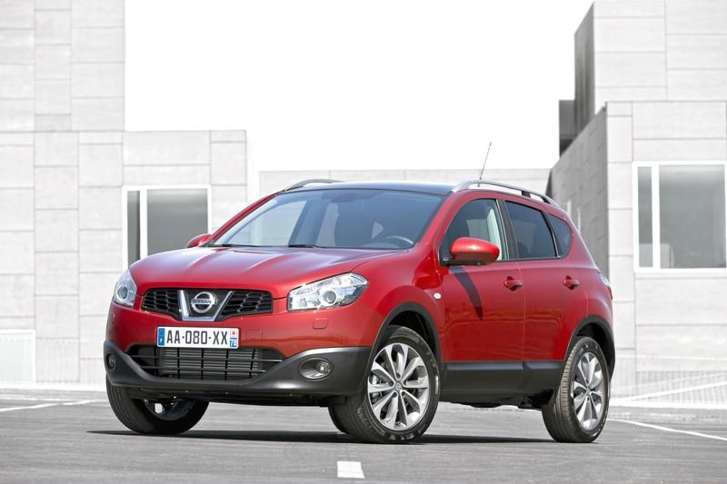 Die Frontpartie des Nissan Qashqai 1.6 dCi 360