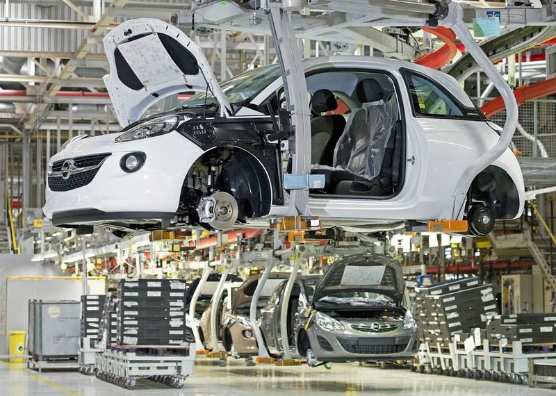 Die Produktion des Opel Adam 1.4 LPG Ecoflex in Eisenach
