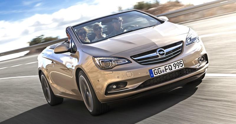 Die Frontpartie des Opel Cascada