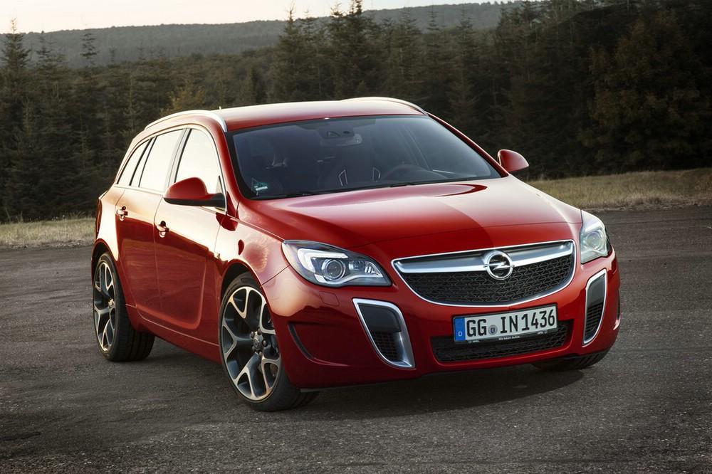Die Frontpartie des Opel Insignia OPC Facelift