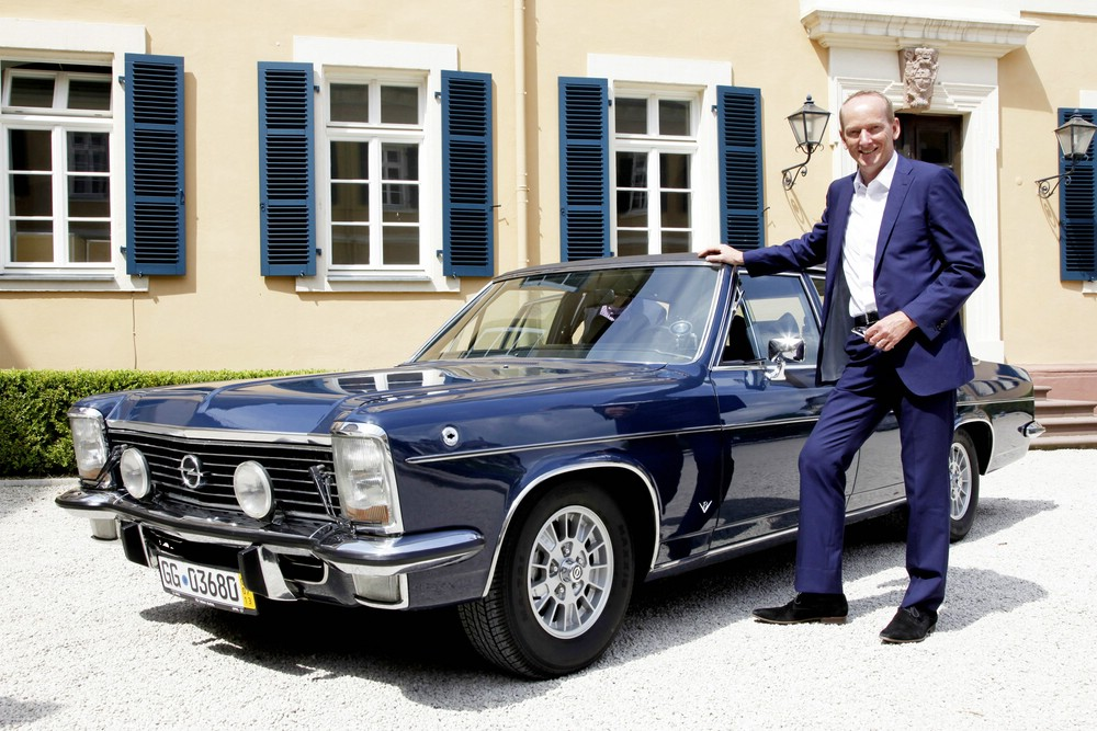 Karl-Theodor Neumann will den Opel Kapitän nochmals fahren