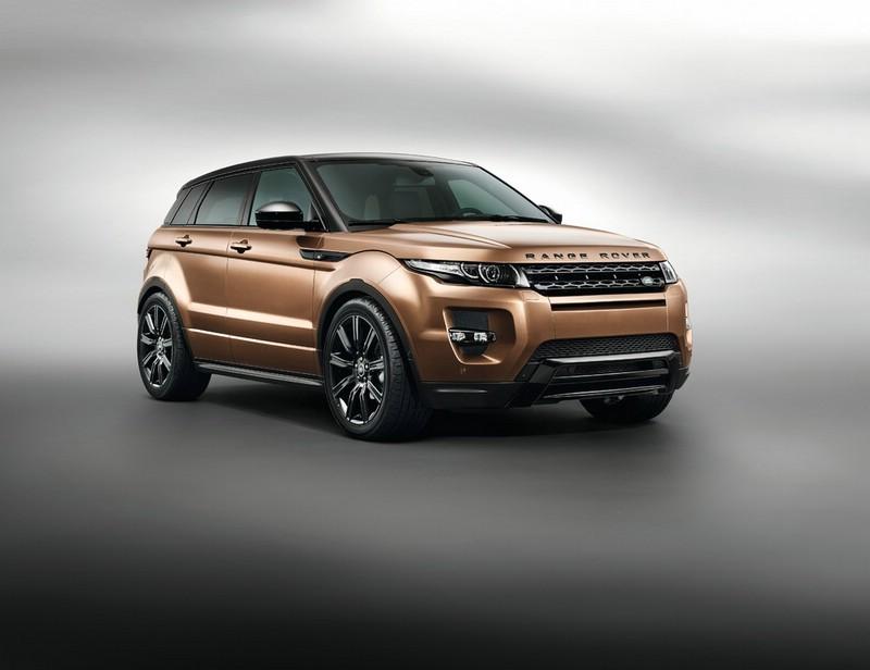 Range Rover Evoque Modelljahr 2014 auf der IAA zu sehen