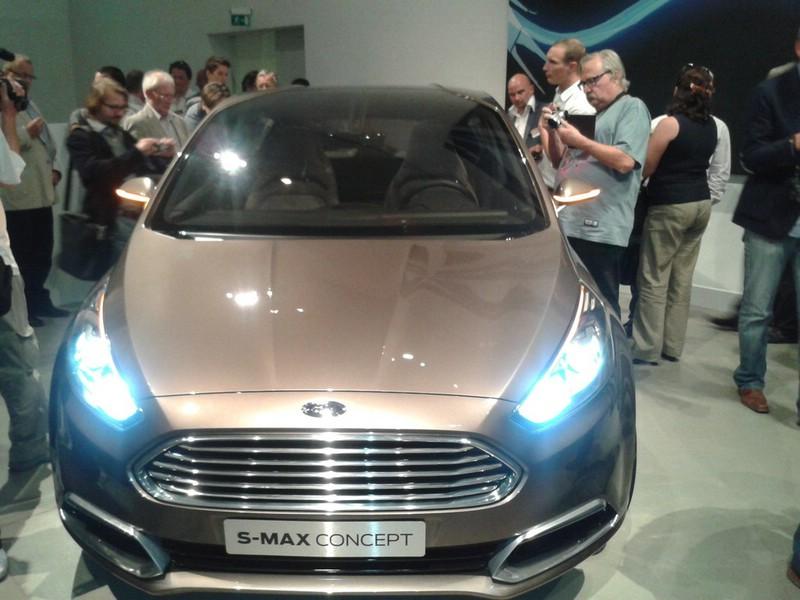 Ford S-Max Concept bei der Vorstellung