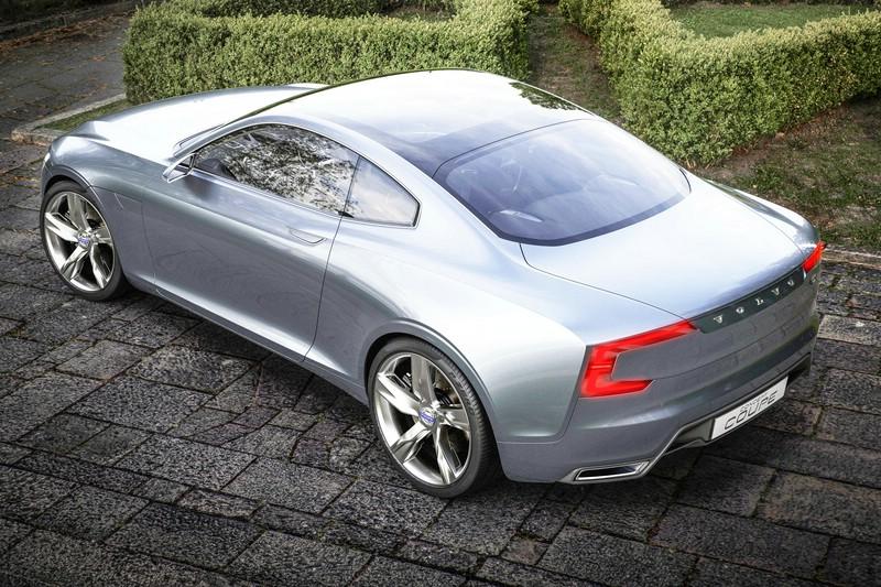 Volvo Concept Coupé in der Seiten udn Heckansicht