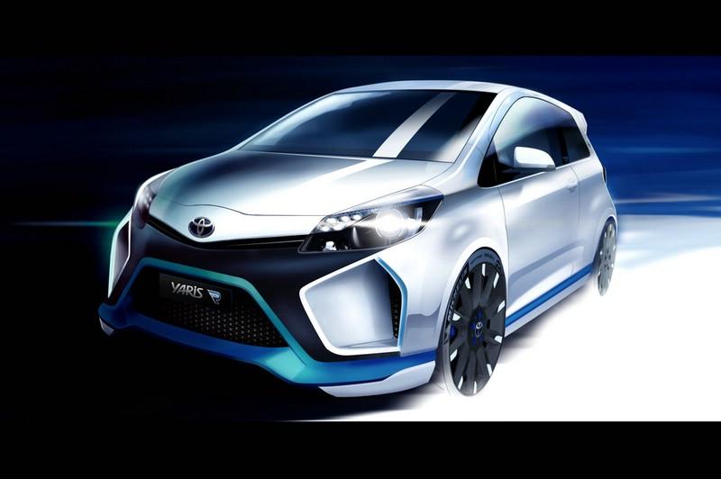 Yaris Hydrid-R von Toyota wird auf der IAA zu sehen sein