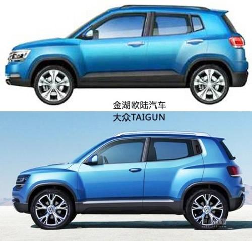 Der Taigun von VW und der aus China