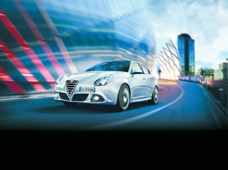 Der überarbeitete Alfa Romeo Giulietta in der Frontansicht