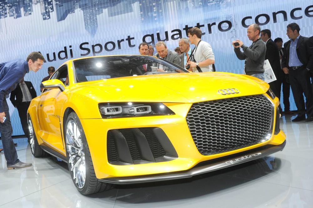 Audi Sport quattro concept auf der Frankfurter Automesse IAA 2013 auf der IAA 2013 in Frankfurt