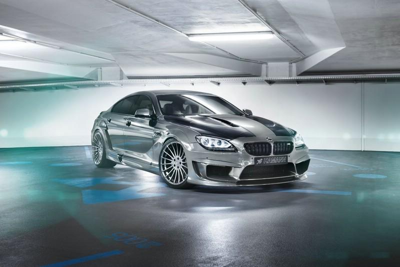 """BMW M6 Gran Coupé Hamann """"Mirror GC"""" in der Frontansicht"""