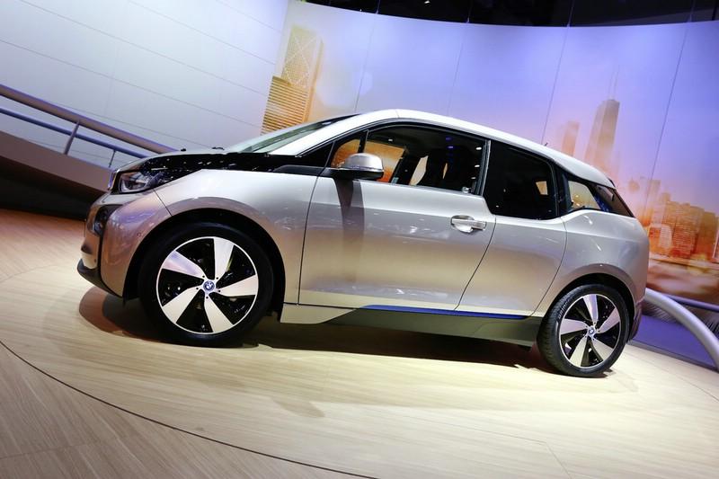 BMW i3 auf der Frankfurter Automobilmesse IAA 2013