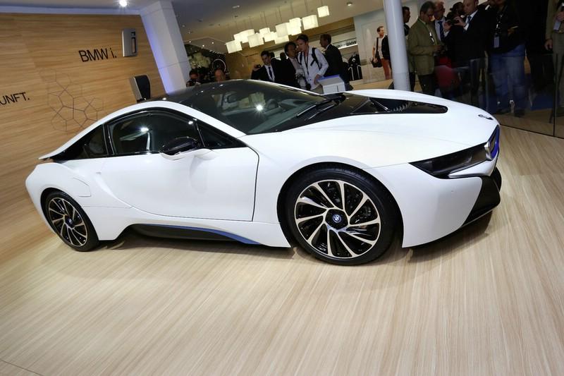 BMW i8 auf der Frankfurter Automesse IAA 2013