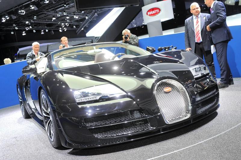 Der limitierte Bugatti Grand Sport Vitesse Jean Bugatti auf der IAA 2013