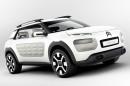 2013 Citroen Concept Car Cactus in weiß