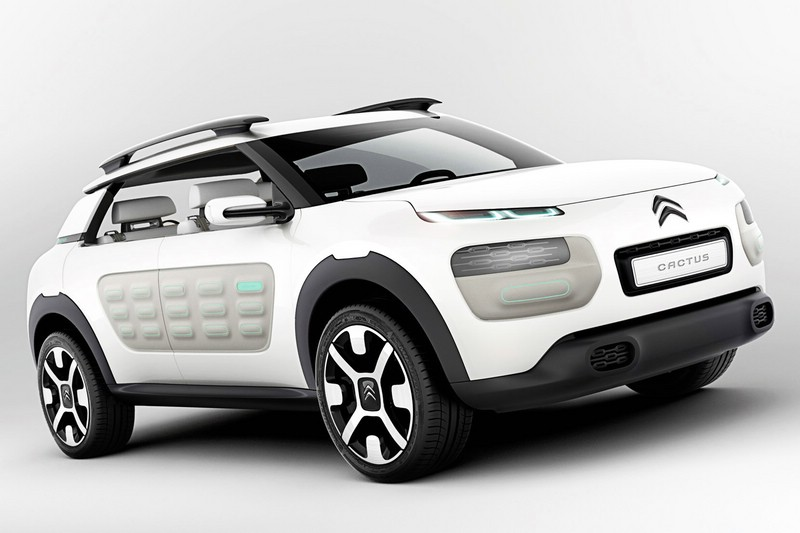 2013 Citroen Concept Car Cactus in weiß