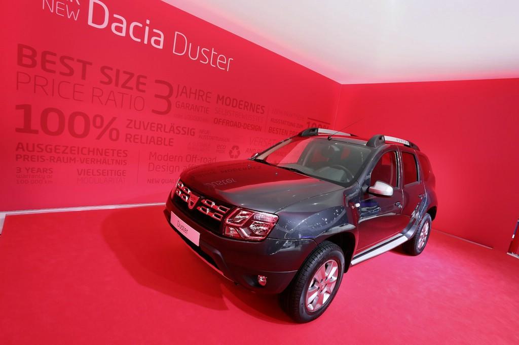 So sieht der Dacia Duster nach der Überarbeitung aus